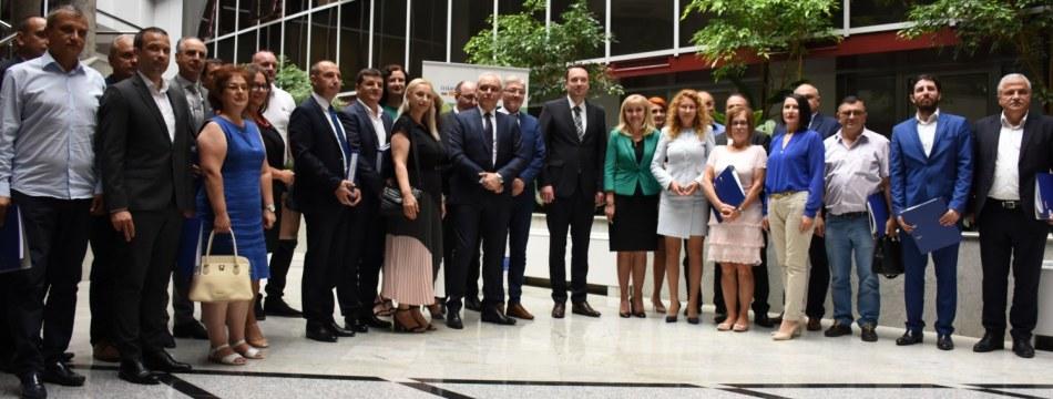 Официјална церемонија за врачување на договори по вториот повик за предлог проекти - Софија, 12 јули 2019 год.