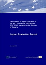 Impact Evaluation of the IPA Cross-border Programmes 2007-2013